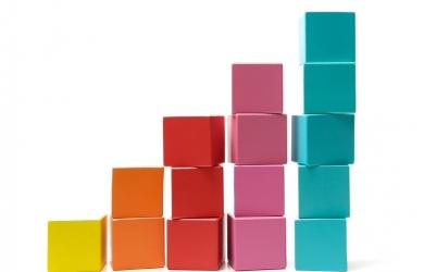 Building blocks increasing