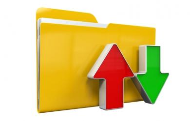 Folder with Arrows